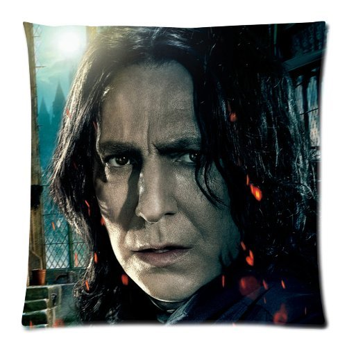 Every New Day Harry Potter Severus Snape Unique Custom Zippered Pillow Cases 18x18 inches(45x45cm) (Two - Potter Figure Harry 18 Inch