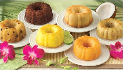 Mini Cake Sampler - Dockside Market Direct From The Florida Keys Dockside Mini Sampler Six Mini Cakes