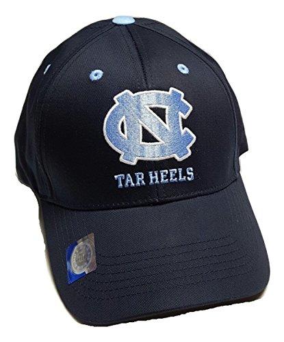 UNC North Carolina Tar Heels Adjustable Logo Cap, Choose Color (Navy) Tar Heels Unc Baseball