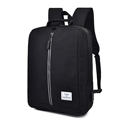 S.CHARMA Laptop Backpack Mochila con 15.6 pulgadas Laptop Bag Mochila de negocios Mochila de
