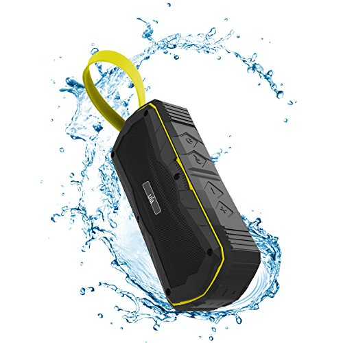 Ula Portable Wireless Outdoor Bluetooth Speakers 4.1 Waterproof IPX7 Sport Speakers Built-in 4000mAh Battery for Beach, Shower & Home