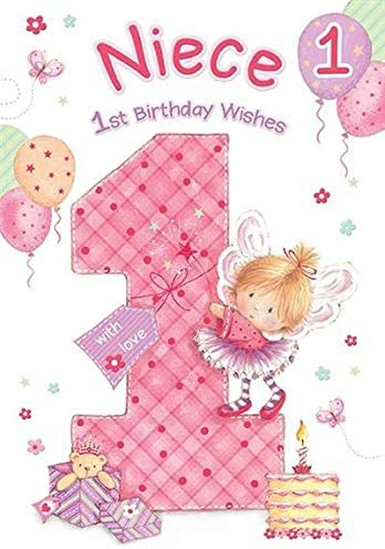 PERSONALISED Handmade BIRTHDAY Card  FAIRY Grand  Daughter Niece Sister 2 3 4 5