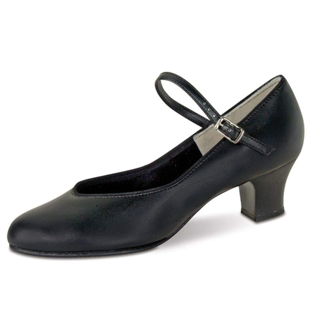 [Danshuz] Womensブラック文字タップQueenダンス靴サイズ3.5 – 12 B0085LZNTE  12 B(M) US