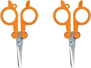 Fiskars Travel Folding Scissors (2 Pack)