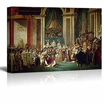 Wll Art The Coronation of Napoleon by Jacques Louis David Famous Painting Reproduction and