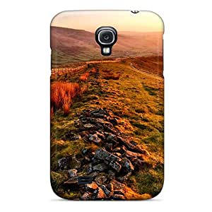 Premium Protection Spring Morning Case Cover For Galaxy S4- Retail Packaging