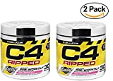 quest preworkout - Cellucor C4 Ripped Pre Workout Powder + Thermogenic Fat Burner, Fat Burners for Men & Women, Weight Loss & Energy, Fruity Rainbow Last, 30 Servings