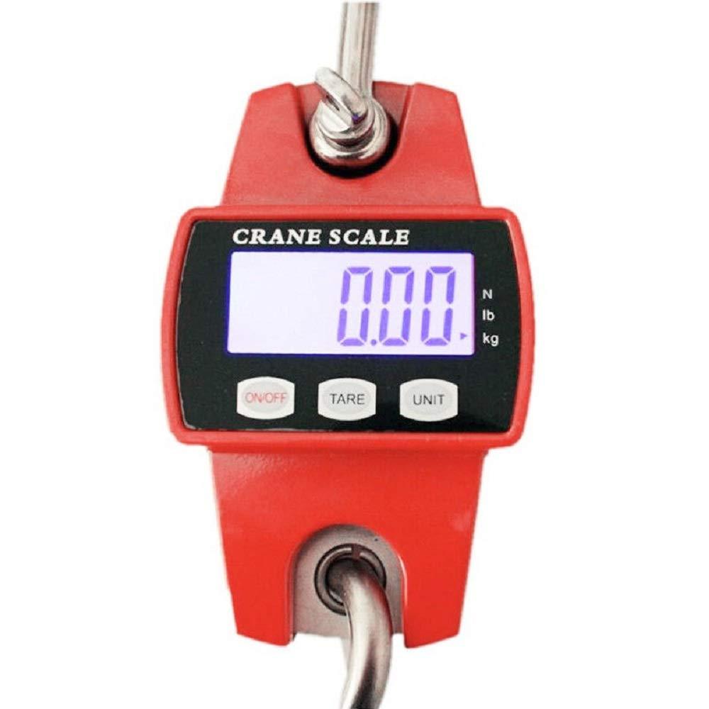 Profi gru cartella Bilancia Last Bilancia LCD 300/kg//100g NUOVA Scala industriale