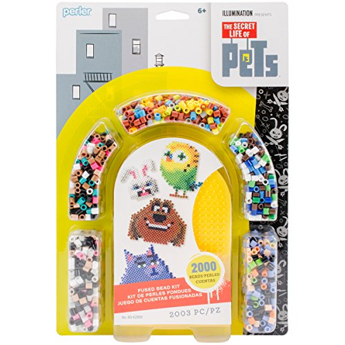 Perler Beads 'Secret Life of Pets' Fuse Bead Activity Kit for Kids Crafts, 2003 -