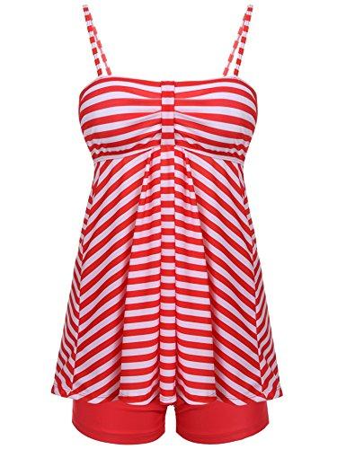 OURS Womens Tankini Swimsuit Spaghetti product image