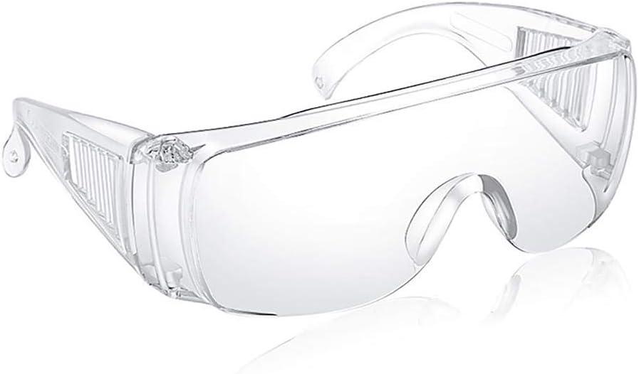 Gafas de seguridad para montar en la arena a prueba de viento Gotas antisalpicaduras Gafas protectoras contra virus transpirables a prueba de polvo unisex Gafas impermeables y resistentes a los golpes