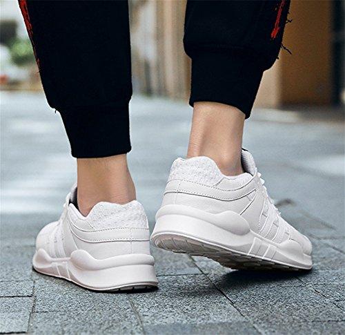 Renmen Tamaño White Help Casuales Hombres Zapatos Los 39 Transpirable De Estudiante 47 Deportes Shoes Malla Verano Ligero Low zqrRz