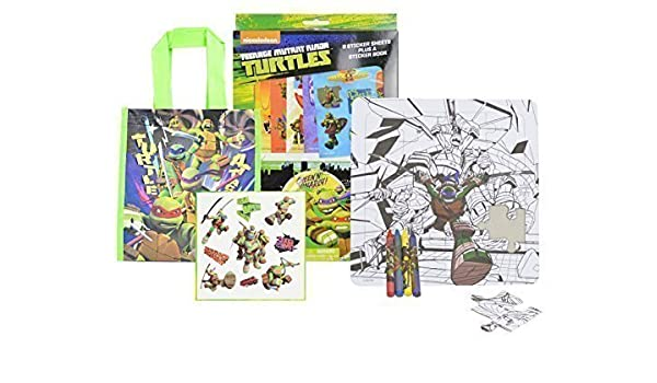 Nickelodeon TMNT Teenage Mutant Ninja Turtles Party Favors ...