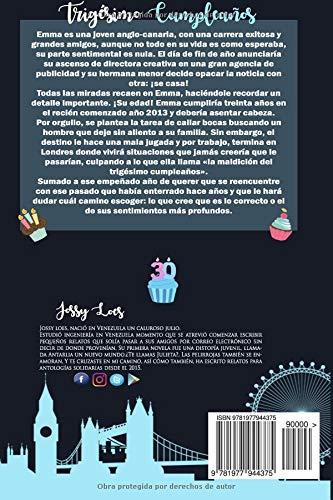 Trigésimo cumpleaños: Amazon.es: Jossy Loes: Libros