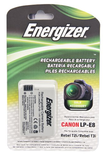 Energizer ENB CE8 Digital Replacement Battery