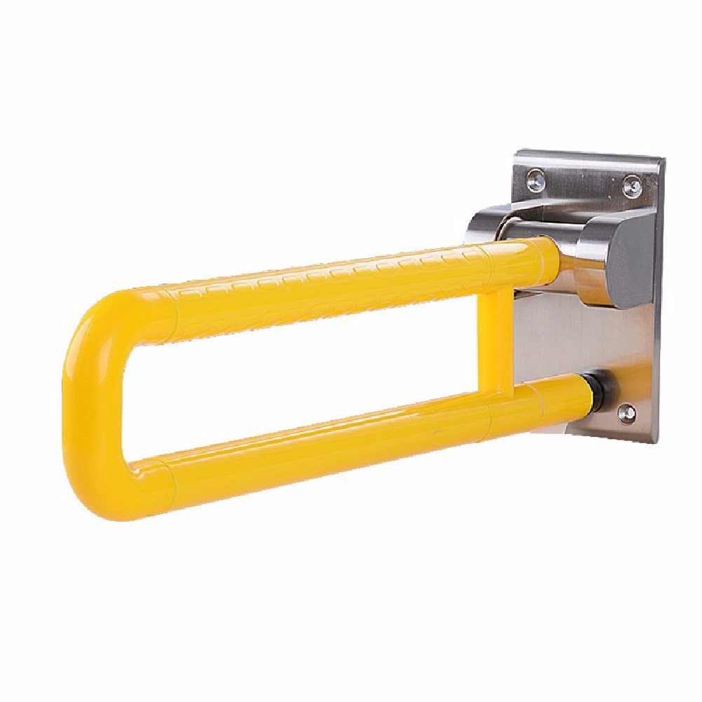 HQLCX Handrail Stainless Steel Handle Barrier Free Bathroom Safe Handle For Old People,Yellow