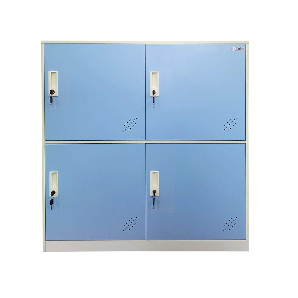Storage Lockers 9d 9 Door Small Bedroom Furniture Metal Locker With Cloth Rail And Shelf Kids Living Room Locker Storage Lockers For Office Industrial Scientific Belasidevelopers Co Ke