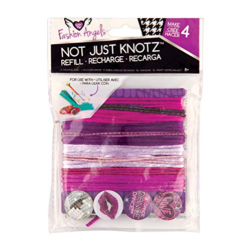 Fashion Angels 11875 Not Just Knotz Refill Pack Dance Toy, Color, Multicolor, Pack of ()