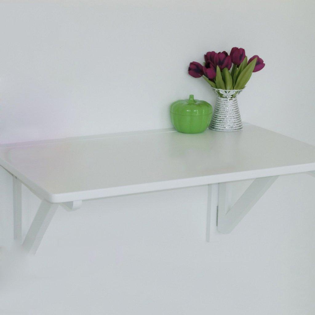 Amazon.de: SUBBYE Wand-hängender Beistelltisch-Computer-Schreibtisch ...