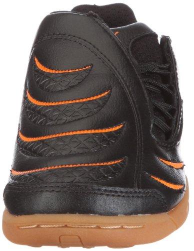 Puma PowerCat 3.10 IT Jr - Zapatillas de fútbol de poliuretano infantil negro - Schwarz/black-white-fluo orange
