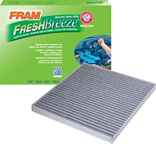 FRAM CF10709 Fresh Breeze Cabin Air Filter with Arm & Hammer