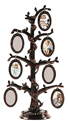 Burnes of Boston 7-Opening Family Tree Collage Frame