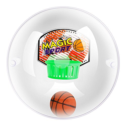iTrustech Mini Handheld Basketball Shooting Game Ball Toys Wrist and Palm Exercise (Green) (Globe Basketball)