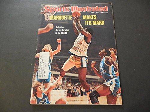 1977 Ncaa Basketball (Sports Illustrated April 4 1977 NCAA Basketball; Chris Evert; Seattle)