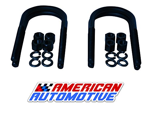 Jeep Cherokee XJ Rear Suspension Lift U Bolts 4PCS 6.5