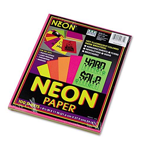 PAC104331 - Pacon Neon Bond Paper