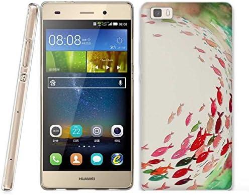 FUBAODA Funda Huawei P8 Lite 3D Realzar, Estético Patrón, Gel de ...