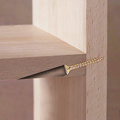 SHUOGOU Mini Pocket Slant Hole Jig Kit + 9.5mm Step Drilling Bit Dowelling Jig Wood Work Tool Set by SHUOGOU (Image #6)