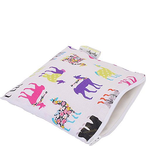 itzy-ritzy-happens-reusable-snack-and-everything-bag-llama-glama-multi