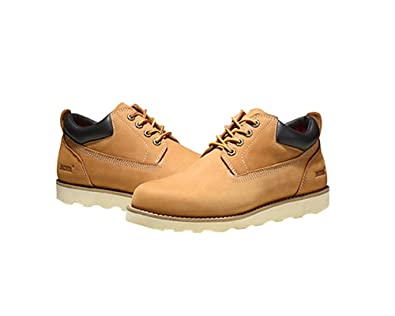 55dccfa5979 Jacata Men's Low-Cut Work Boots Water Resistant Boots Natural Rubber Blend  Soles