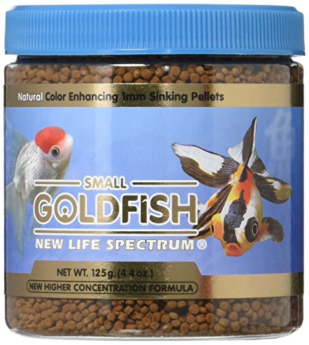 New Life Spectrum Small Goldfish Formula 1mm Sinking Fresh - 125g