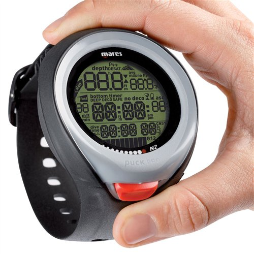 Mares Puck Pro Wrist Dive Computer - Red by Mares (Image #2)