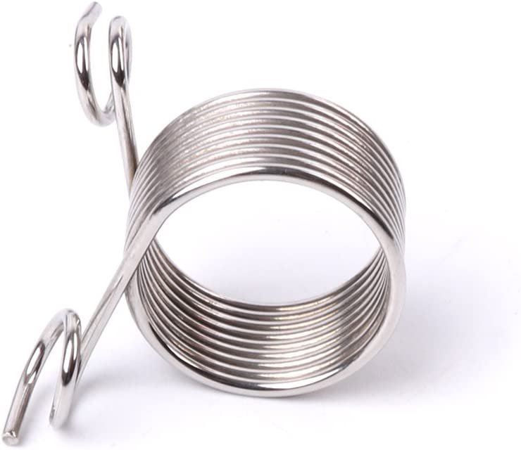 VIccoo Yarn Strand Guide S Stainless Steel Yarn Threader Finger Ring Wool Thread Thimble Knitting Sew Tool