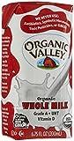 Organic Valley Whole Milk, Single Serve - White - 6.75 oz. - 12 Pack