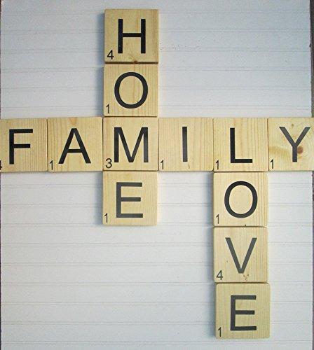 - Large Scrabble Type Tiles Set,