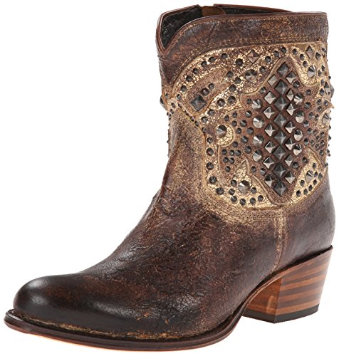 Frye Women's Deborah Deco Short Western Boot Whiskey xTRWo