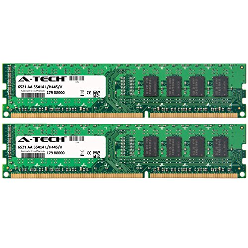 8GB KIT 2X 4GB Dell Optiplex Series 3010 390 580 790 7900 9010 980 DIMM DDR3 Non-ECC PC3-10600 1333MHz RAM Memory Genuine A-Tech Brand