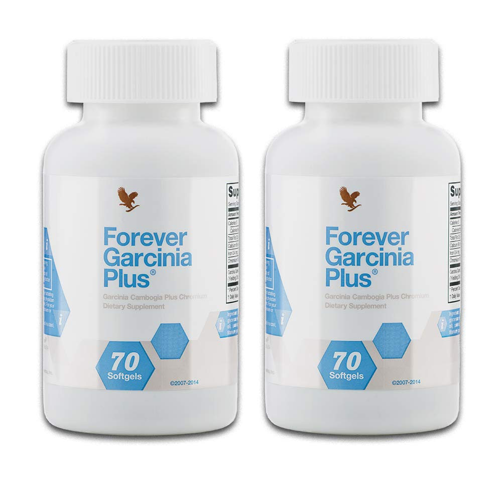 Forever Living Garcinia Plus Weight Loss Supplement (Pack of 2)