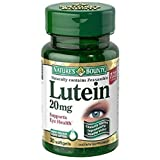 Nature's Bounty Lutein 20 mg Softgels 30 ea (Pack of 8)