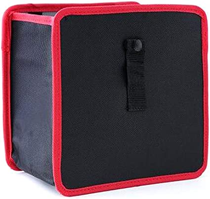 Auto Coche Papelera bolsa de basura contenedor de basura estanca papelera caja de almacenamiento Holder: Amazon.es: Coche y moto