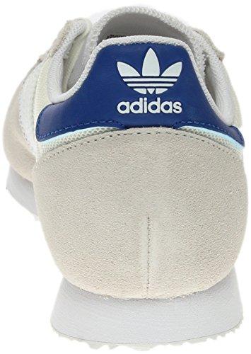 Adidas Original Kvinna Klassiska Tenis Zx Racer Skor Gymnastikskor Vit