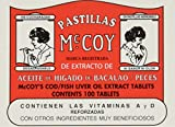 Pastillas McCoy Cod/Fish Liver Oil Extract Tablets 100 ea