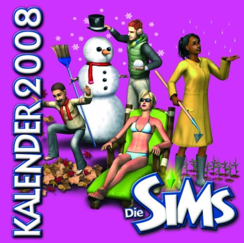 Price comparison product image Die SIMS Wandkalender 2008