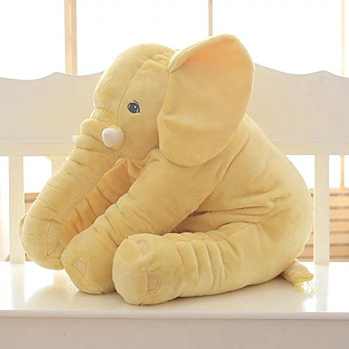 New Baby Kids Long Nose Elephant Doll Soft Plush Stuffed Toy Waist Throw Pillow Cute