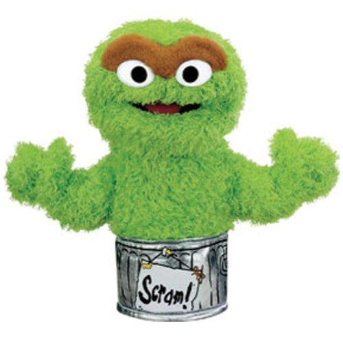 Gund Sesame Street Oscar the Grouch Hand Puppet
