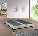 Fully Assembled 5-inch Split Box Spring For Mattress